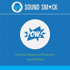 Futuristic Weapons and Explosions Sound Effects CD