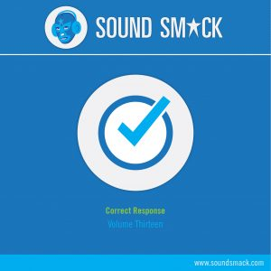 Vol. 13 Correct Responses Sound Effects CD