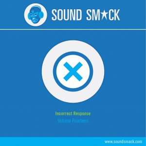Vol. 14 Incorrect Response Sound Effects CD