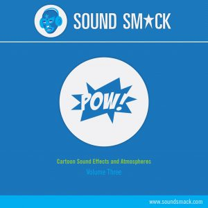 Vol. 3 Cartoon Sound Effects and Atmospheres Library and CD