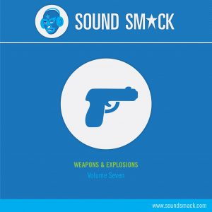 Vol. 7 Weapons and Explosions Sound Effects CD