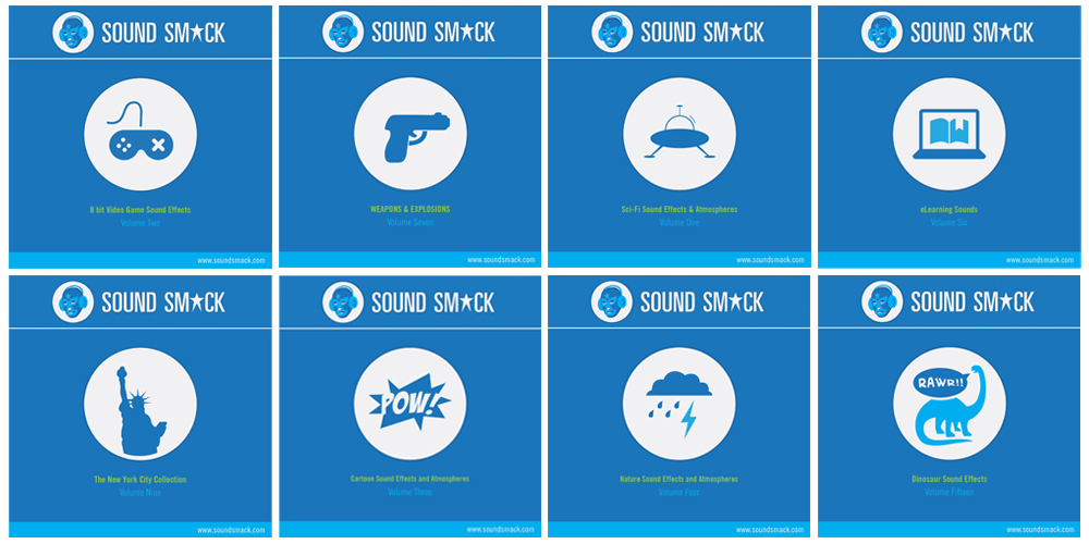 Sound Effect CD Collections